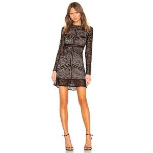 Bardot 'Sasha' Long Sleeve Lace Dress
